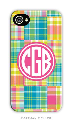 Madras Patch Bright Personalized Boatman Geller Hard Cell Phone and Tech Cases-hard cell phone cases from boatman geller, iphone cell phone cases, blackberry cell phone cases, samsung cell phone cases, madras patch bright cell phone case