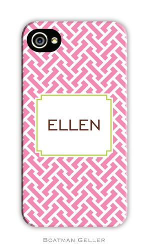 Stella Pink Personalized Boatman Geller Hard Cell Phone and Tech Cases