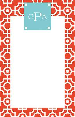 Lattice Large Notepad from Whitney English - more colors