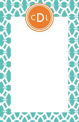 Trellis Large Notepad from Whitney English - more colors