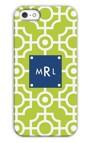 Lattice Lime Personalized Tech Cases for iPhone, iPad, iPod and Samsung by Whitney English