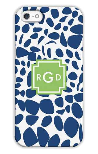 Lizard Navy Personalized Tech Cases for iPhone, iPad, iPod and Samsung by Whitney English