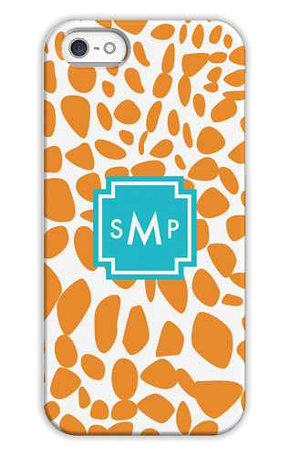 Lizard Orange Personalized Tech Cases for iPhone, iPad, iPod and Samsung by Whitney English