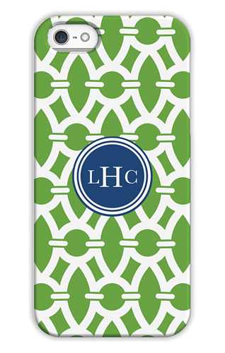 Trellis Basil Personalized Tech Cases for iPhone, iPad, iPod and Samsung by Whitney English