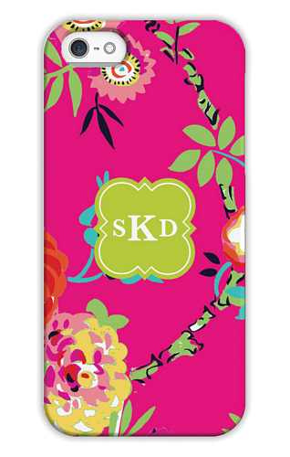 Peyton Bright Pink Personalized Tech Cases for iPhone, iPad, iPod and Samsung by Whitney English