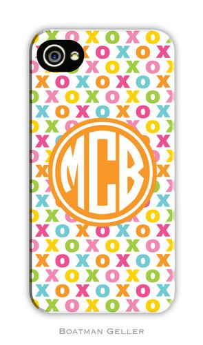 Hugs & Kisses Personalized Boatman Geller Hard Cell Phone and Tech Cases