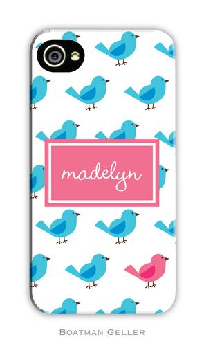 Birdies Repeat Personalized Boatman Geller Hard Cell Phone and Tech Cases