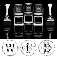 PSA Essentials Personalized Self Inking Stamper-Many Options-psa essentials stamper, peel & stick technology, interchange designs, monogrammed stampers, address stampers, custom stamper, summer sale