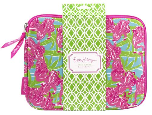 iPad /Netbook Neoprene Sleeve from Lilly Pulitzer Fan Dance