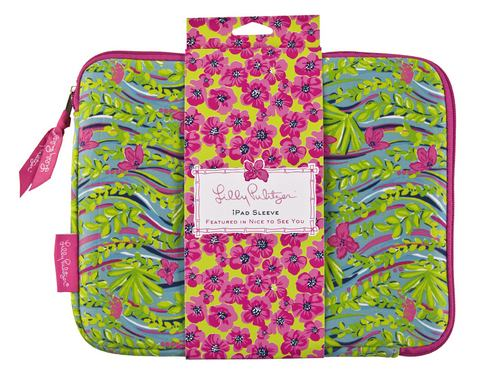 iPad /Netbook Neoprene Sleeve from Lilly Pulitzer-Nice to See You