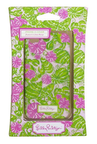 4G/4S iPhone Covers from Lilly Pulitzer Chum Bucket