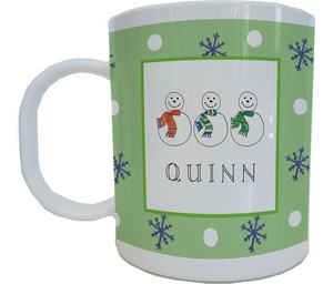 Snowmen Mug from Kelly Hughes Designs