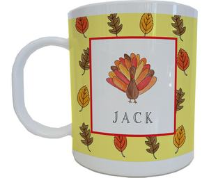Turkey Mug from Kelly Hughes Designs