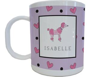 Poodle Mug from Kelly Hughes Designs