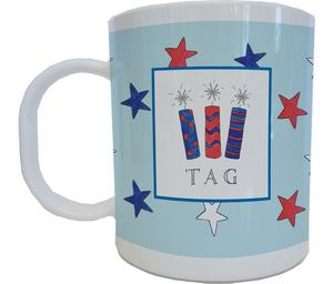Firecracker Mug from Kelly Hughes Designs