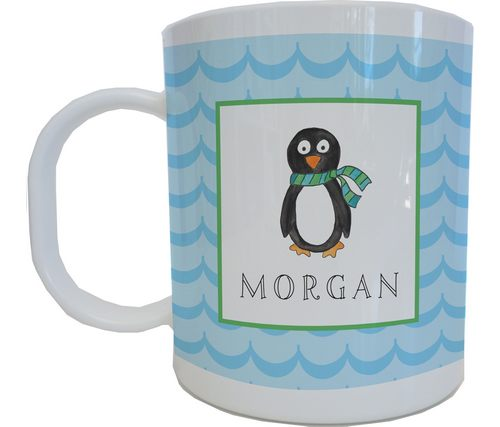 Penquin Parade Mug from Kelly Hughes Designs