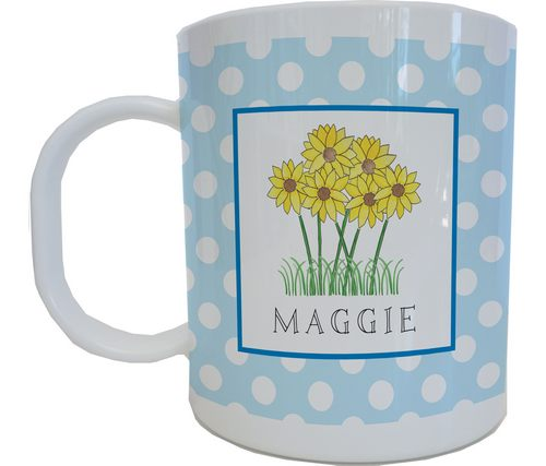 Wild Flowers Mug from Kelly Hughes Designs