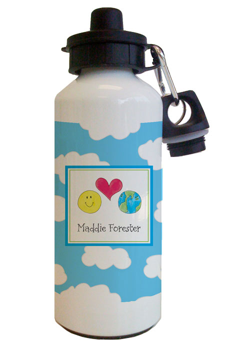 Love your Earth Water Bottle from Kelly Hughes Designs