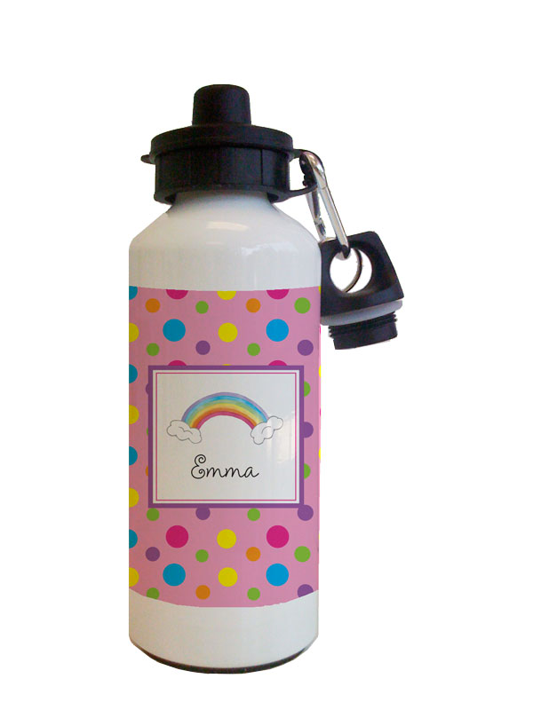 Over the Rainbow Water Bottle from Kelly Hughes Designs