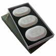 Original Monogram Trio Eco Friendly Soaps from Carved Solutions-monogram personalized soaps from carved solutions, monogram trio soaps