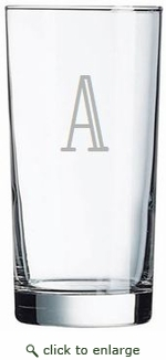 Personalized Cooler/Highball Glasses from Carved Solutions-