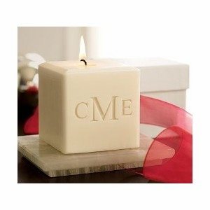 3&quot; Soy Blend Personalized Candles from Carved Solutions