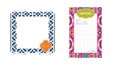 Whitney English Notepads & Clip Sheets