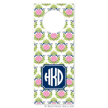 Boatman Geller Monogrammed Wine Tags