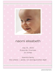 Shower Invitations & Birth Announcements