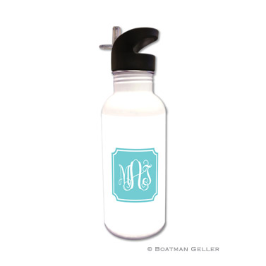 Monogrammed Personalized Boatman Geller Water Bottle