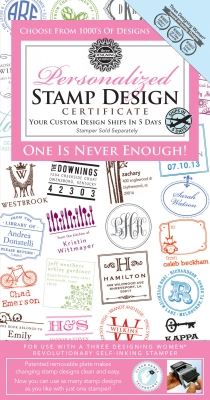 Stamper Gift Certificate from Three Designing Women