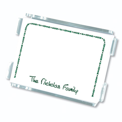 Family Arch Agenda from Embossed Graphics