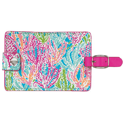 Lilly Pulitzer Luggage Tags - Let's Cha Cha