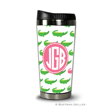 Personalized Boatman Geller Travel Tumbler