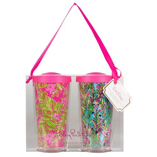 Lilly Pulitzer Insulated Tumbler Set - Jungle Tumble