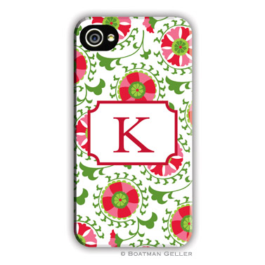 Suzani Holiday Personalized Boatman Geller Hard Cell Phone and Tech Cases