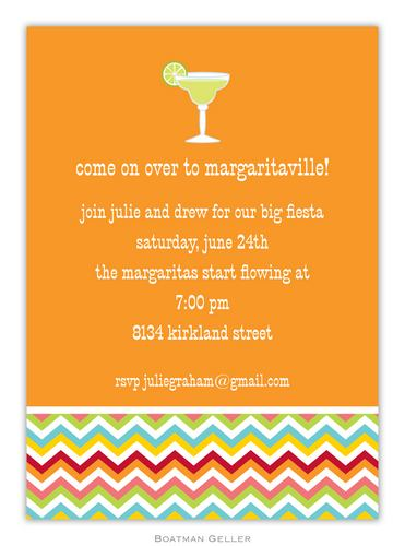 Margarita Bright Invitation from Boatman Geller