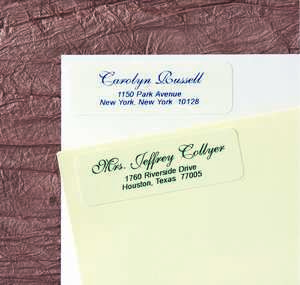 Victorian Return Address Labels