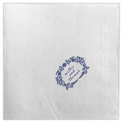 Dabney Lee Monogrammed Linen-Like Napkins-3 sizes
