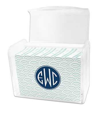 Dabney Lee Ella Note Cards in Lucite Stationery Box