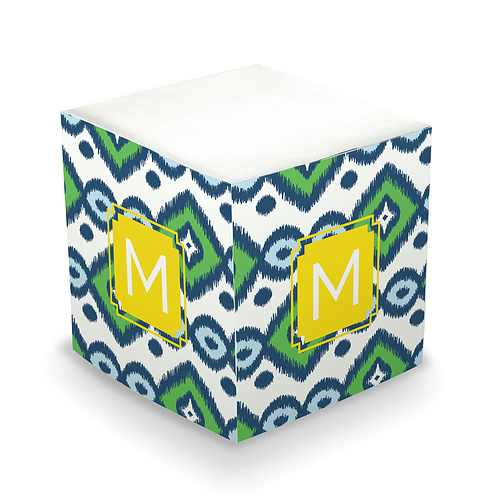 Dabney Lee Monogrammed Sticky Note Cubes