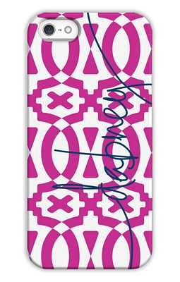 Poppy Monogrammed Tech and Phone Cases from Dabney Lee