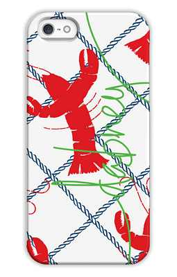 Rock Lobster Monogrammed Tech and Phone Cases from Dabney Lee