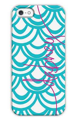 Seashells Monogrammed Tech and Phone Cases from Dabney Lee