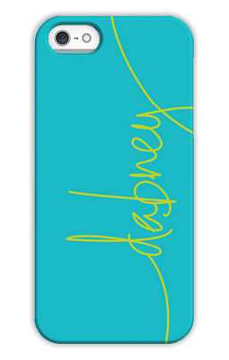 Robin's Egg Monogrammed Tech and Phone Cases from Dabney Lee
