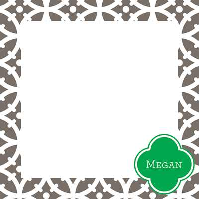 Bloom Square Note Sheets in Acrylic from Whitney English - more colors