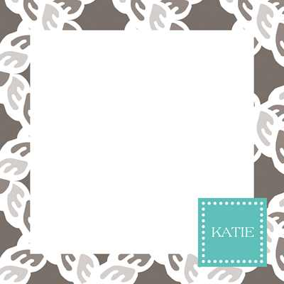 Nautical Square Note Sheets in Acrylic from Whitney English - more colors