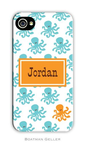 Octopus Repeat Personalized Boatman Geller Hard Cell Phone and Tech Cases