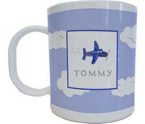 Airplane Mug from Kelly Hughes Designs