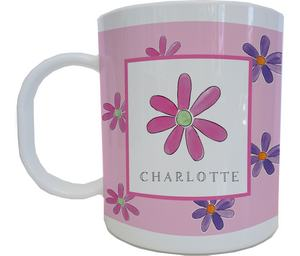 Flower Power Mug from Kelly Hughes Designs